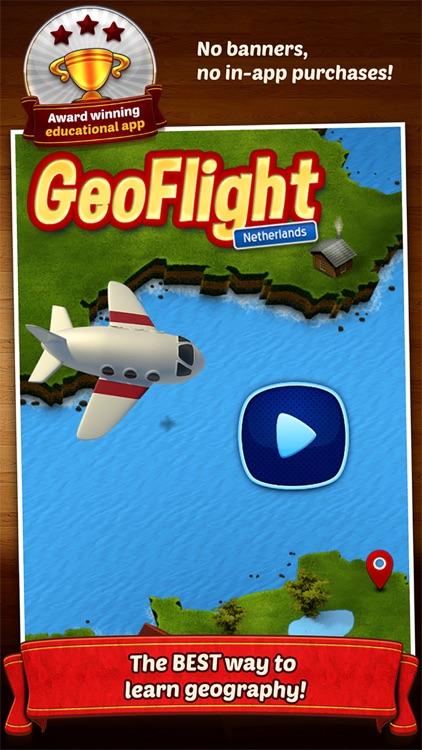 GeoFlight Netherlands Pro screenshot-4