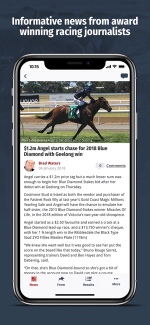 Racenet – Horse Racing Form on the App Store