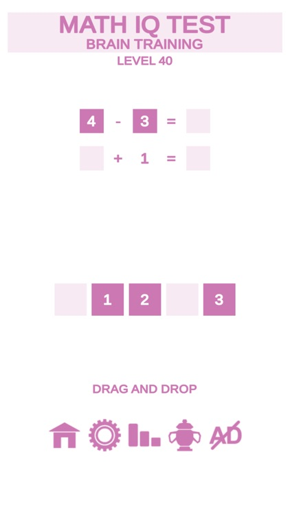 Math IQ Test + Brain Training screenshot-3