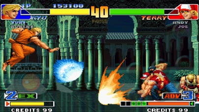 Screenshot from THE KING OF FIGHTERS '98