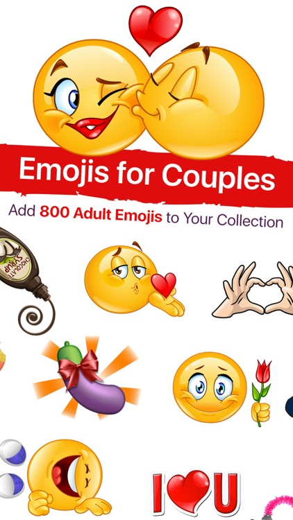 Adult Emoji for Lovers