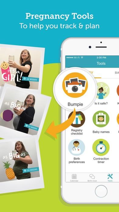 Pregnancy Tracker - BabyCenter app image