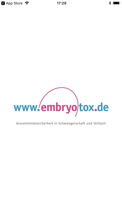 Screenshot for Embryotox in Germany App Store