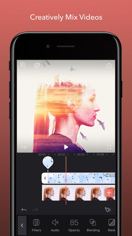 Enlight Videoleap Video Editor screenshot-0