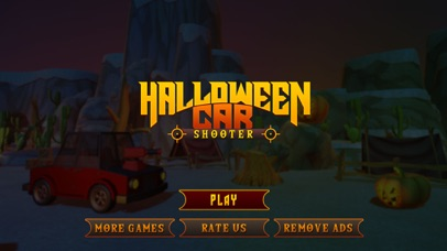 Scary Halloween Shooting Car screenshot 1