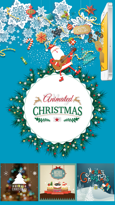 Animated Christmas Stickers - screenshot one