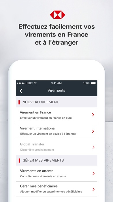 download HSBC France apps 3