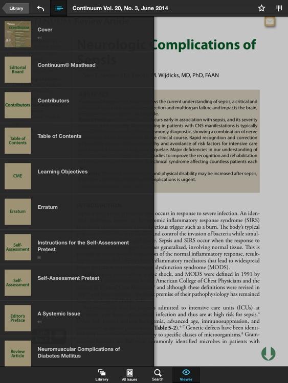 Continuum: Lifelong Learning in Neurology® screenshot-4
