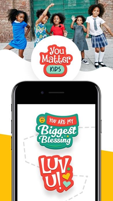 You Matter Kids Sticker Pack screenshot one