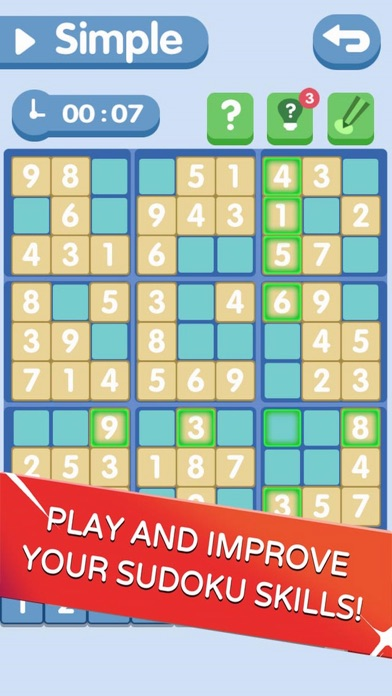 Sudoku!Level Brain screenshot 2