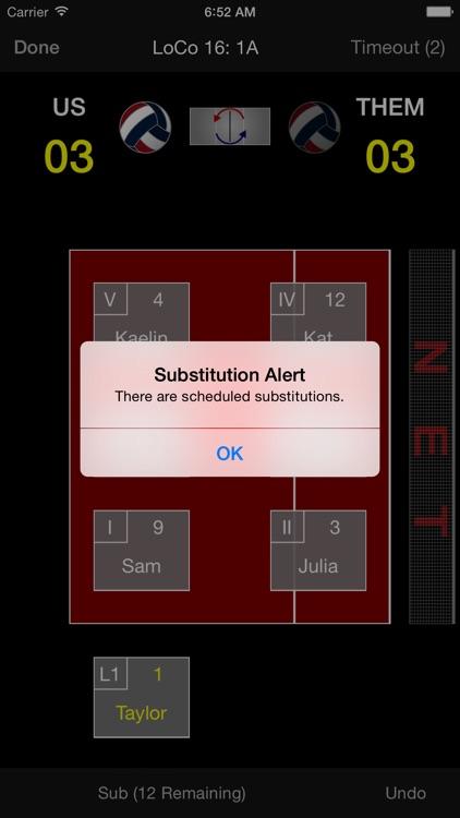 Volleyball Lineup Tracker screenshot-4