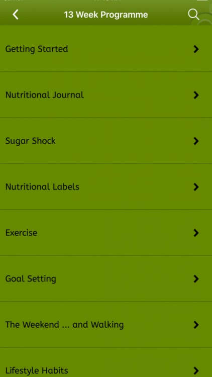 Slimming Diet meal planner