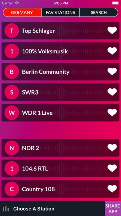 Live FM - World Radio Stations screenshot-4