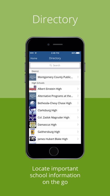 myMCPS Mobile screenshot-1