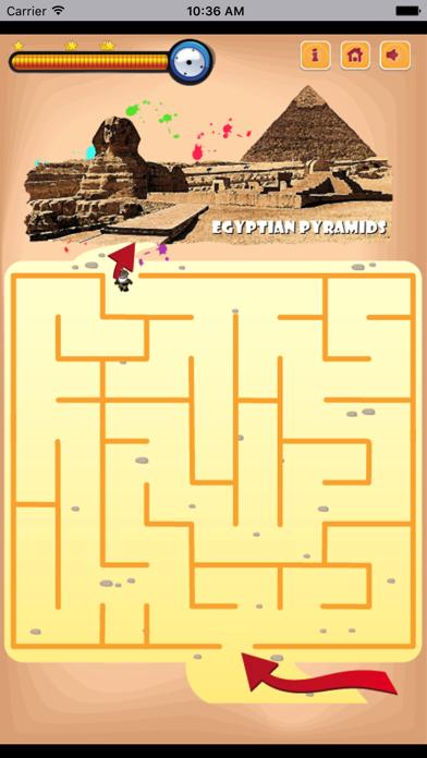 旅客走迷宫-超具挑战的益智小游戏 screenshot four