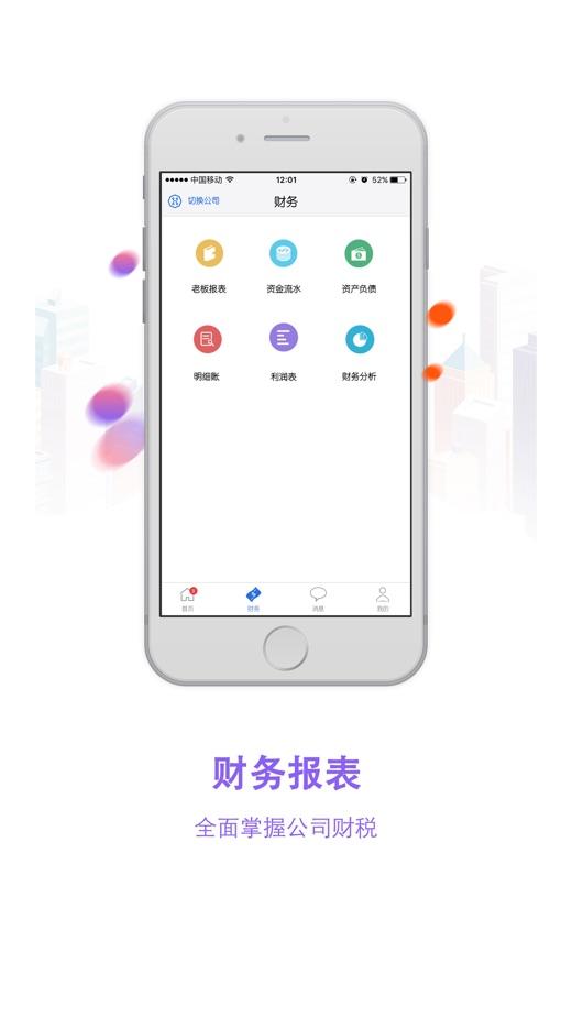 大账房 App 截图