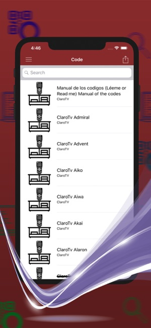 Control Code For Claro TV on the App Store