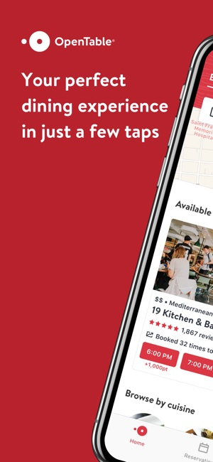 OpenTable on the App Store