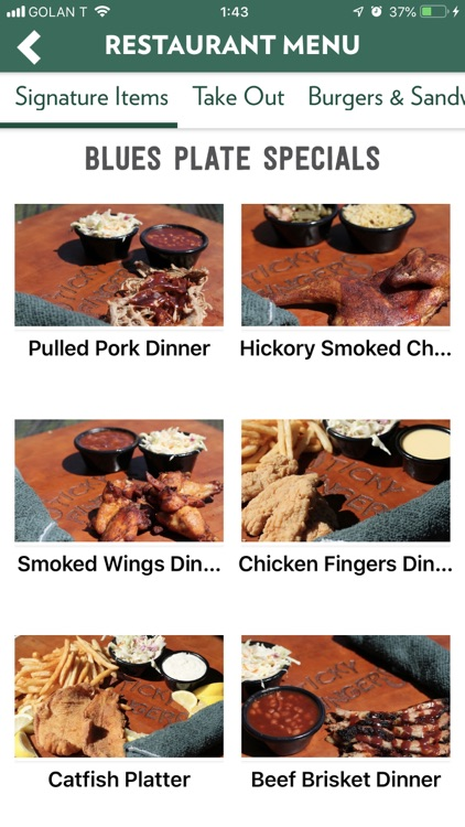 Sticky Fingers Ribhouse screenshot-5