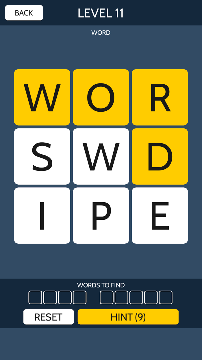 Word Swipe - Word Search Games Screenshot