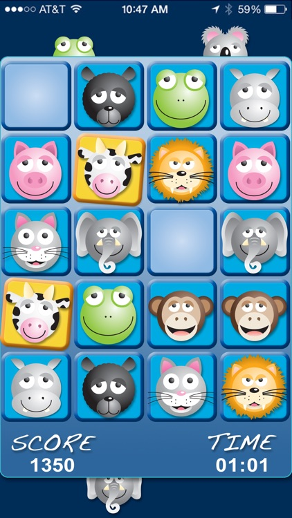 AniMatch: Animal Matching Game