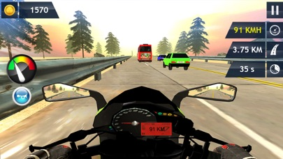 In Moto Racing Adventure screenshot two