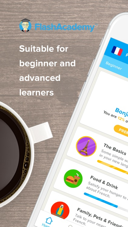 FlashAcademy: Language Learning