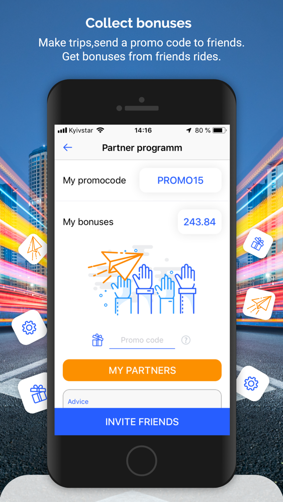 OptiTaxi - taxi online App for iPhone - Free Download OptiTaxi
