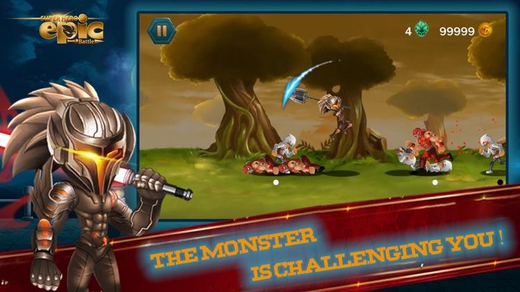 Super heroes Epic Battle screenshot-0