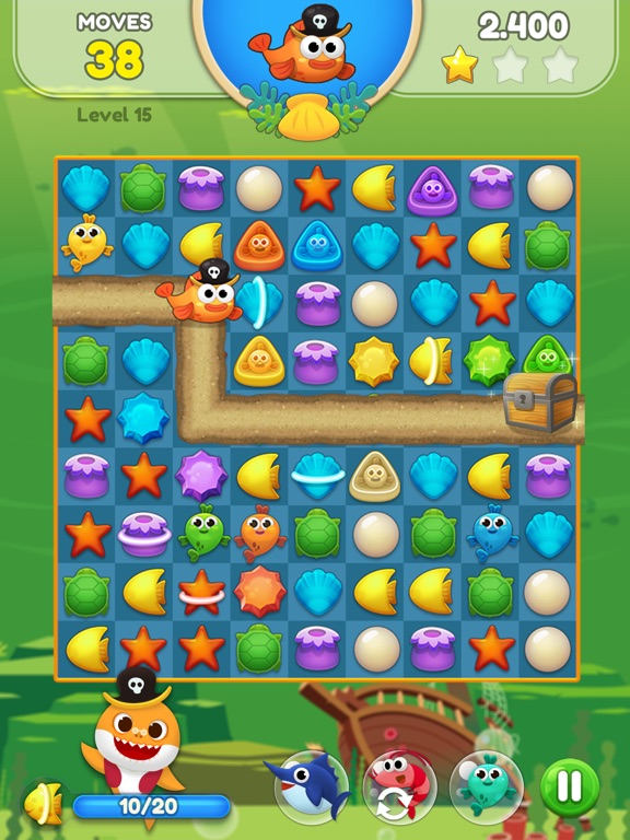 Baby Shark Match: Ocean Jam screenshot 10