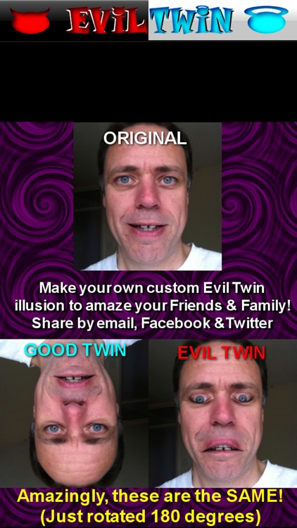 Evil Twin Photo Booth