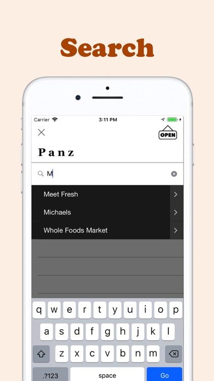 Panz - Find restaurants nearby screenshot-3