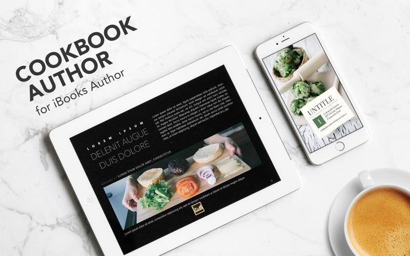Cookbook Author  - Templates Screenshots