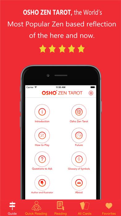 Osho Zen Tarot review screenshots