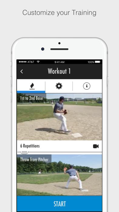Baseball Training Screenshot