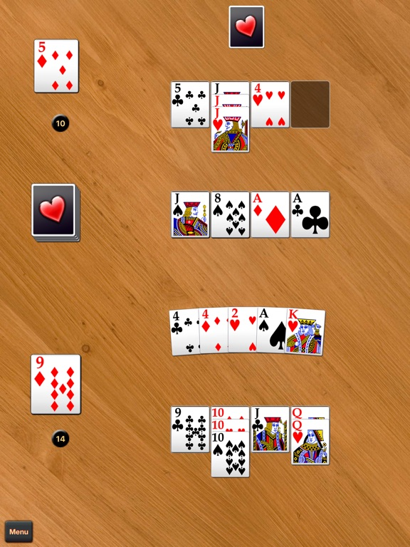 Screenshot #2 for Spite & Malice - Classic Game