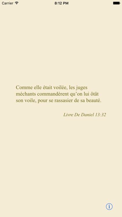 La Sainte Bible (avancée) screenshot-3