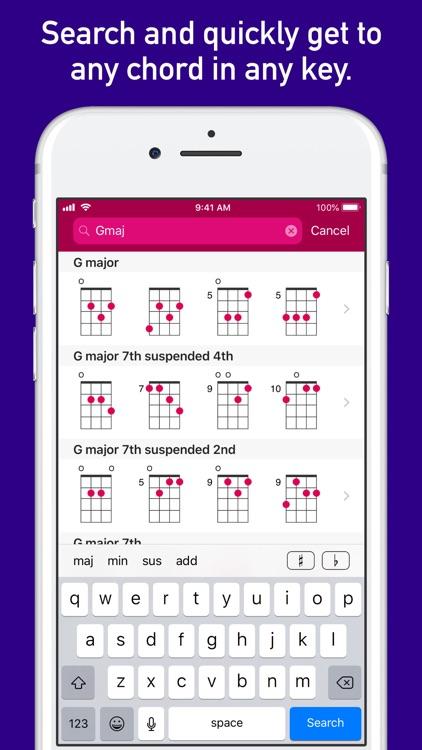 UkeLib Chords Pro screenshot-4