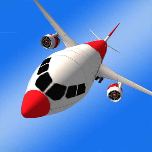 Airplane Flight-Simulator 3d iOS App