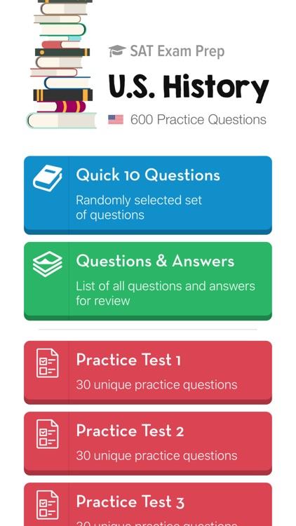 SAT U.S. History Subject Test