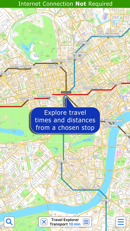 London Tube - Map and Route Planner by Zuti screenshot-3