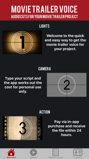 Movie Trailer Voice on the App Store