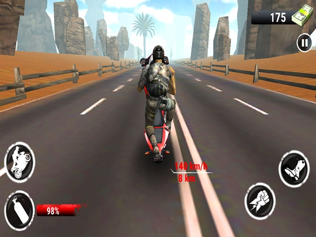 Bike Highway Fight Race Sports, game for IOS