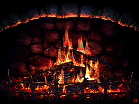 Screenshot #2 for Fireplace 3D