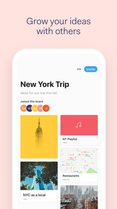 download Collect by WeTransfer apps 4
