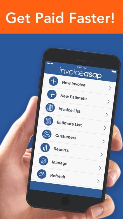 Invoice ASAP, Invoicing, Estimates & Field Service