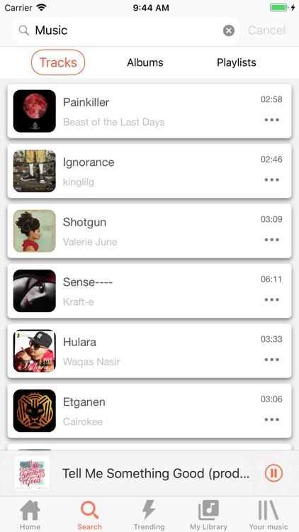 Music Player - Music Tube Play screenshot-4