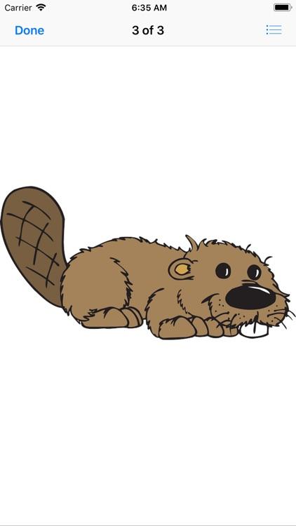 Best Beaver Stickers screenshot-4