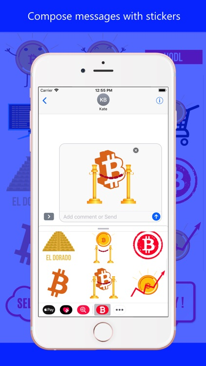 Bitcoin Central Crypto Emoji