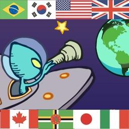 Million Quiz Show World Flags
